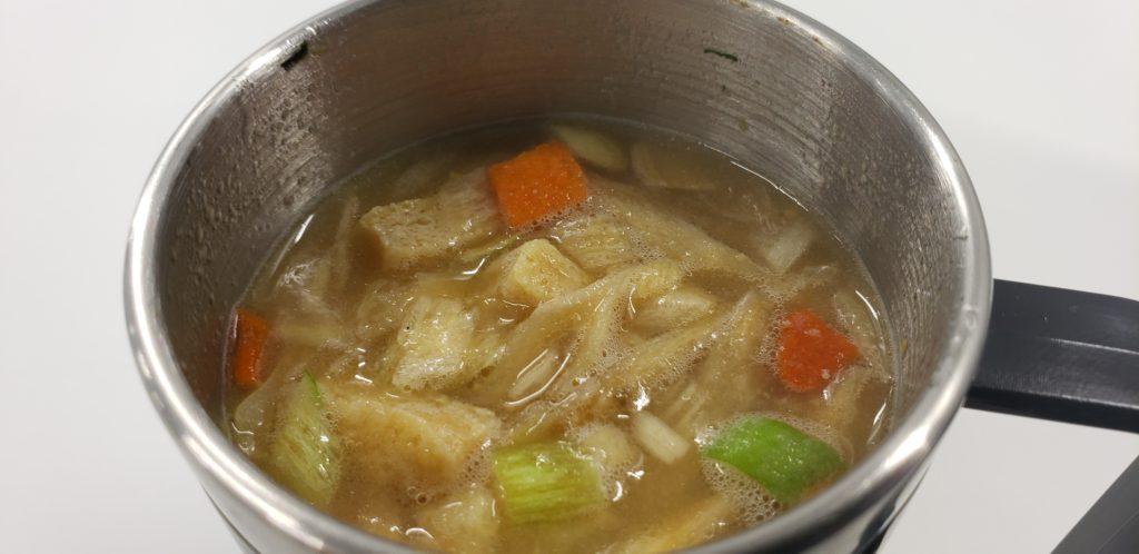 野菜のうま味が利いた「豚汁」